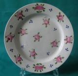 A Rare Machin Porcelain Plate c.1815