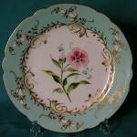 Samuel Alcock porcelain dessert plate c.1850
