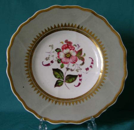 S. Alcock dessert plate c.1835-40