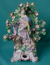 A Bow Porcelain Figure of Ceres c.1760