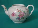 A rare Bristol Porcelain Teapot c.1770
