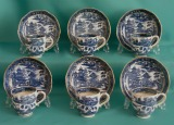 A Caughley Porcelain coffee set c.1790