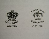 Printed crown marks c.1881-1920