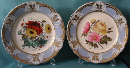 Coalport dessert plates c.1820-25