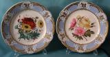 A Pair of Coalport dessert plates c.1820-25