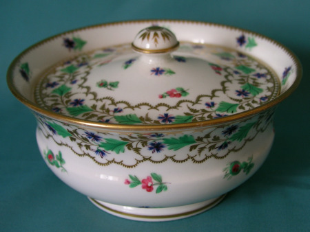 Coalport Sugar Bowl and Cover c.1820