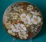 A Copeland Porcelain Plaque c.1880