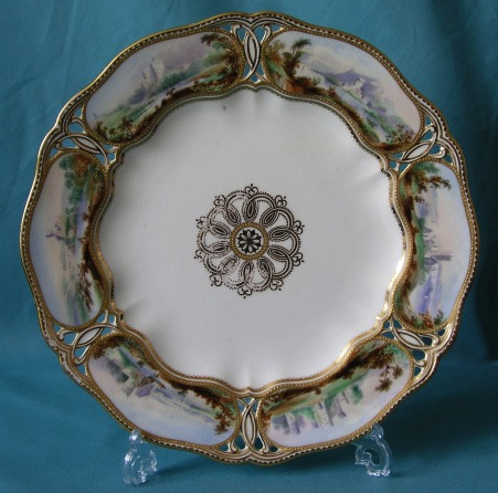 A Copeland Porcelain Plate c.1870