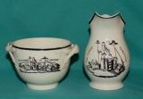 18th Century Leeds Creamware Jug