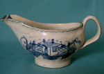 18th Century English Creamware sauce boat