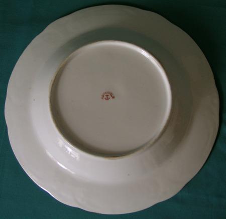 Davenport armorial bowl mark