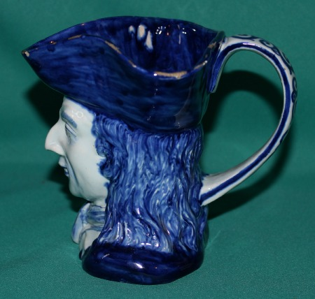 19th Century Delft Toby Jug Quot The Squire Quot