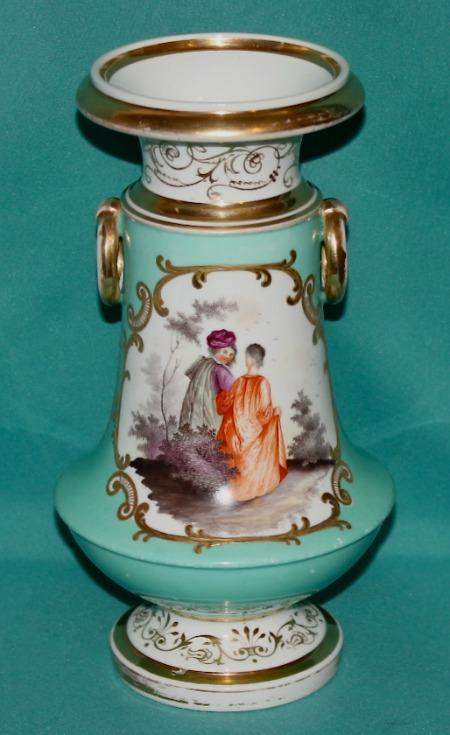 English Porcelain Vase C 1830 40
