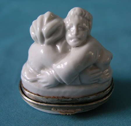 A 19th Century French Porcelain Snuff-Box