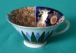 A Fukagawa Miniature Porcelain Cup c.1890-1900