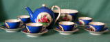 A Russian Francis Gardner Porcelain Tea set c.1880-1900