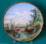 A Rare George Jones Porcelain Plate c.1865-70