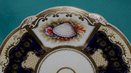 A Hicks And Meigh Porcelain Dish C 1830