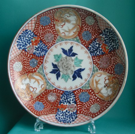 A 19th Century Japanese Imari Charger