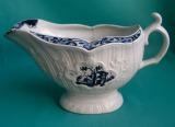 A Rare Isleworth Porcelain Sauceboat c. 1770-75