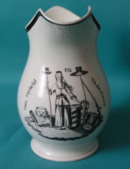 An 18th Century Leeds Creamware Jug