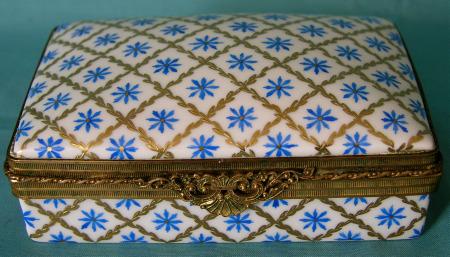 Atelier Le Tallec Porcelain Jewelry Box c.1949