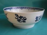 A Seth Pennington Liverpool Porcelain slop bowl c.1780