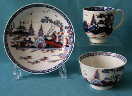 Liverpool Porcelain Trio