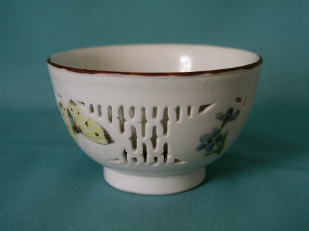 London decorated chinese porcelain bowl c.1755-65