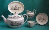 Machin Porcelain Teaset, Pattern 184 c.1810