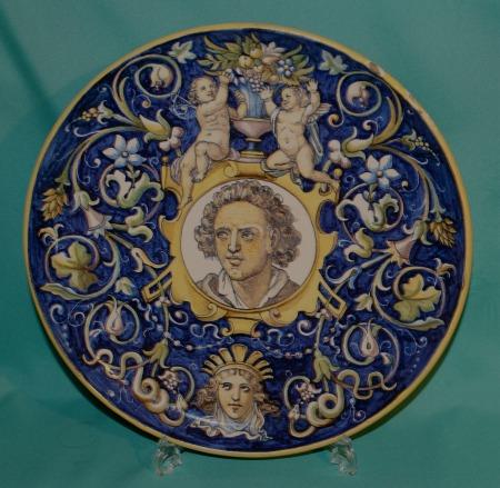 19th Century Italian Maiolica Dish