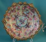 18th Century Meissen Porcelain Plate,