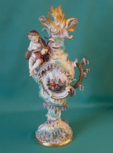 Meissen Ornamental Figural Group, Emblematic of