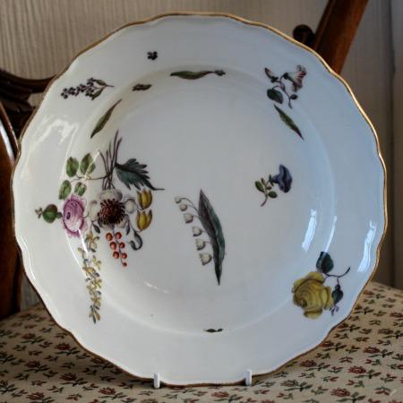 Meissen Porcelain Plate C 1740 50