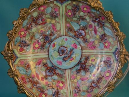 An 18th Century Meissen Quot Clobbered Quot Porcelain Plate