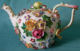 Late 19th century Meissen teapot