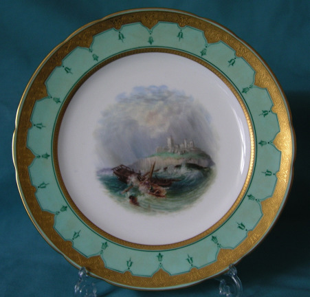 Late 19th Century Minton Cabinet Plate