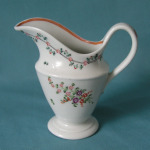 A New Hall milk jug Pattern 191 c.1795