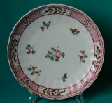 A New Hall Porcelain Plate, pattern 311