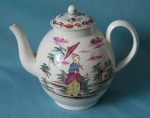 An English Pearlware Teapot c.1780