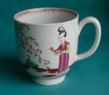 A Liverpool Seth Pennington's porcelain coffee cup c.1780