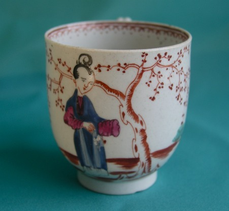 A Seth Pennington Liverpool Porcelain Coffee Cup C 1780