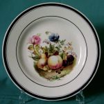 Dessert Plate ( possibly Rockingham ) c.1830
