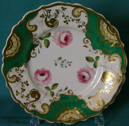 A dessert plate, possibly Ridgway c.1820