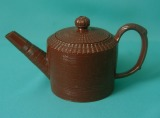 A Staffordshire Redware Teapot c.1760