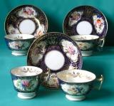 Ridgway Porcelain Part Teaset c.1820