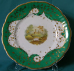 Ridgway porcelain dessert plate c.1830