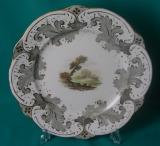 A Rockingham Porcelain Dessert Plate c.1835