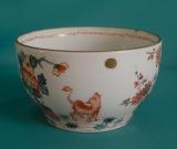 A French Samson Porcelain Bowl, Chantilly Copy c.1880
