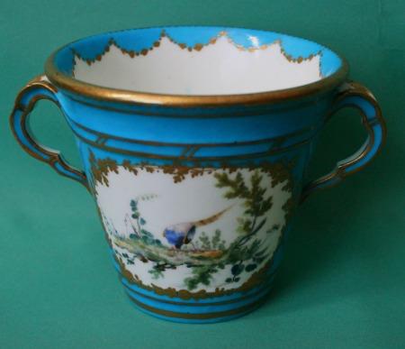 A Sevres Porcelain Pot C 1753